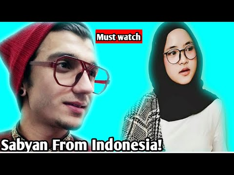 | REACTION | YA ASYIQOL Cover by  ( Sabyan ) #Indonesia