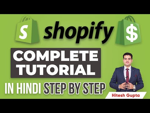 Shopify Tutorial for Beginners in Hindi   Shopify Dropshipping Tutorial   Shopify Course in Hindi