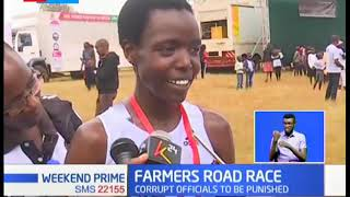 Agnes Tirop And Nicholas Kipkorir Are The Winners Of Ziwa Farmers Road Race 2019