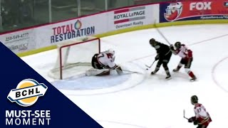 Must See Moment: Simon Tassy's solo effort lifts Salmon Arm to victory in overtime