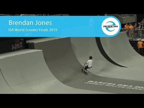 Brendan Jones - ISA Men's World Scooter Semi Finals 2019
