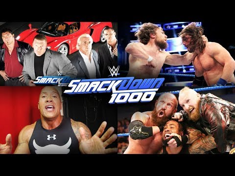 How WWE Should Have Booked SmackDown 1000!