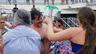 Hairy Chest Contest At Carnival Sunrise