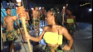 Flambeau Procession at the Petite Martinique Whitsuntide Regatta 2017