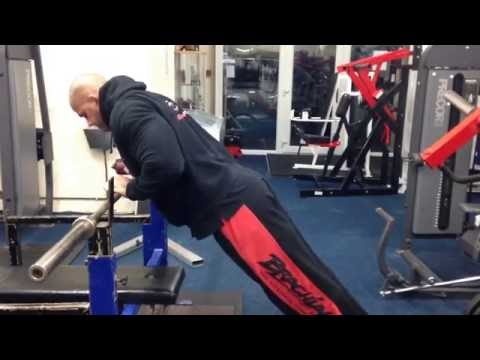 Standing Incline Close Grip Push-Ups