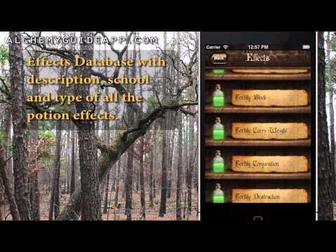 Video of Alchemy Guide - Skyrim