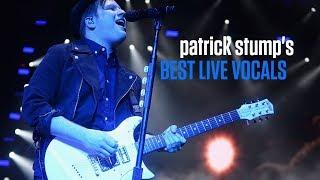 <b>Patrick Stump</b>s Best Live Vocals