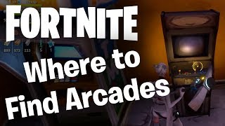 Fortnite: Where to Find Arcade Machines for Daily Destroy Quest