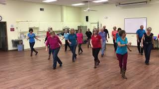 Line Dance of the Month -  Ticket to the Blues