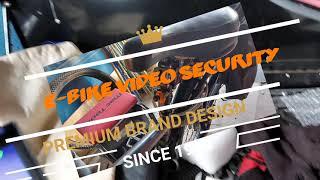 E-BIKE VIDEO SECURITY SYSTEM