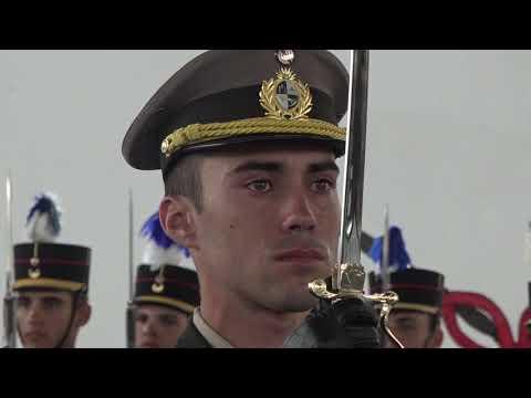 Clausura de cursos de la Escuela Militar