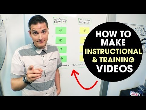 how to create training videos and instructional videos