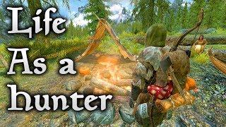 Skyrim life as a Hunter Part 1 - Winter