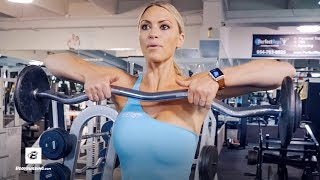3 Favorite Shoulder Exercises | IFBB Bikini Pro Tabitha Campominosi