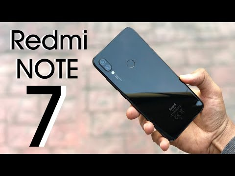 Xiaomi Redmi Note 7 Unboxing and Review