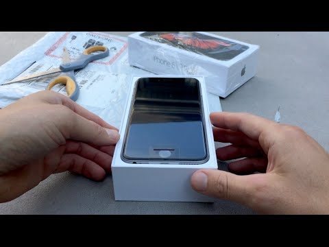 iPhone 6s Plus 128gb Unboxing. By a normal dude. First Test 4k Video, Live Photos & Force Touch.