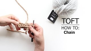 How To: Chain (ch) - including Slip Stitch (sl st) to create a circle | TOFT Crochet Lesson