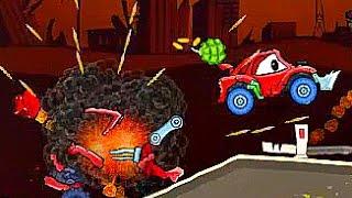 развивающие мультики для детей  мультик игра машина ест машину серия 2 - мультфильм про машинку