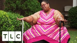 Chitoka Attempts To Walk Outside For The First Time In Years   My 3000-lb Family
