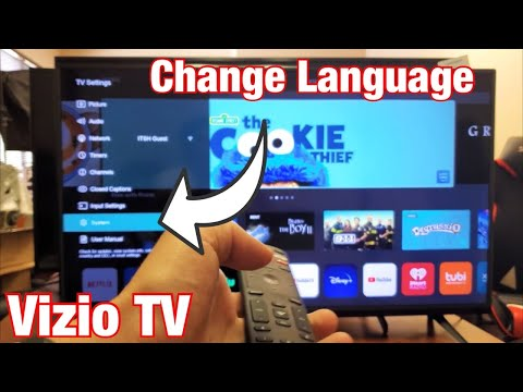 Vizio TV: How to Change Language (Stuck in Another Language? Bring Back English)