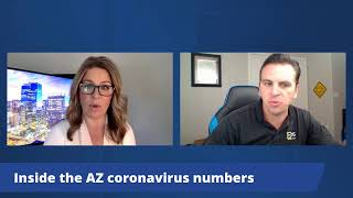 Inside Arizonas Coronavirus Numbers - Aug. 7, 2020