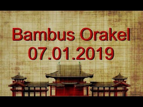 Bambus Orakel: 08.01.2019 (Dienstag) (видео)
