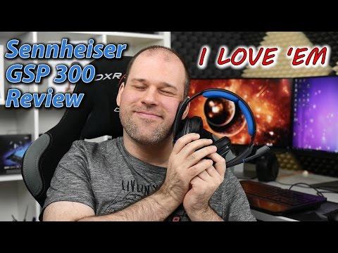 Sennheiser GSP 300 Review | THE BEST headset I've ever used!
