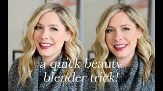 A Beauty Blender Trick