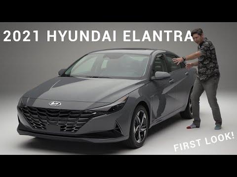 External Review Video qKLqSTQI3Cw for Hyundai Elantra & Elantra Hybrid Compact Sedan (7th-gen, CN7, 2021)