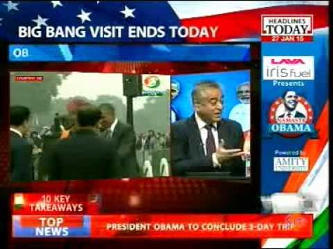 Sanjay Puri (USINPAC Chairman) on Obama India Visit – Headlines Today