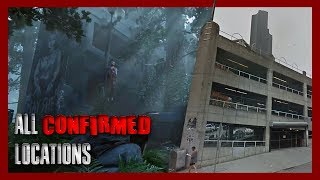 All confirmed locations for The Last of Us Part II