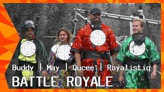 EXCLUSIEF: Battle Royale met Royalistiq, Qucee, May en Buddy   ZAPPSPORT - DEEL 1