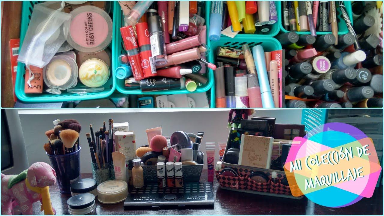 Mi Colección de maquillaje/¿Cómo lo organizo?