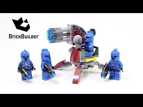 Vidéo LEGO Star Wars 75088 : Le commando du sénat