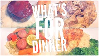 WHAT'S FOR DINNER | QUICK AND EASY WEEKNIGHT MEALS