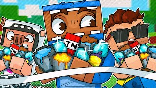2v2 Scavenger Hunt Race - Minecraft!