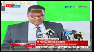 Jubilee Government launches mobile traded bond M-Akiba to encourage local investment