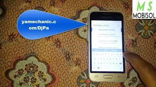 Samsung J1 Mini FRP Lock Bypass/SM-J106F/ SM-J105F FRP Lock Unlock 100% Remove And Working Done
