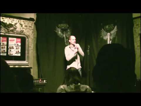 Ed Pownall at Angel Comedy Raw April 2014