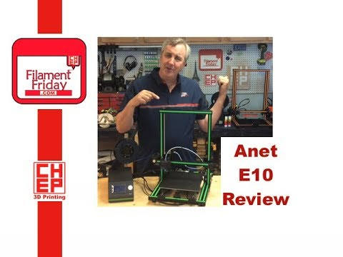 Anet E10 3D Printer Review – The CR-10 Killer?