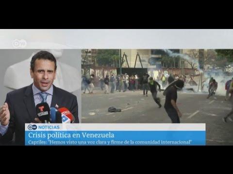Henrique Capriles pedirá medidas cautelares para suspender su destitución