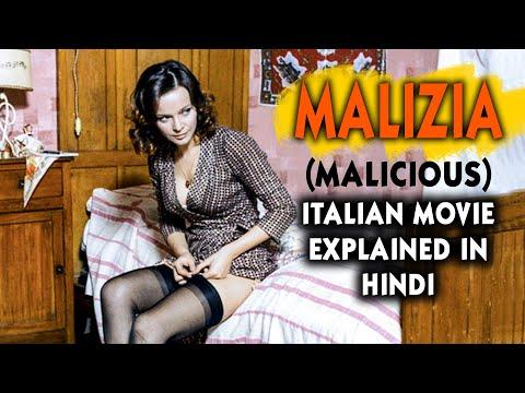 Italian Film Malizia (1973)  Explained in Hindi | Malicious | Laura Antonelli | 9D Production