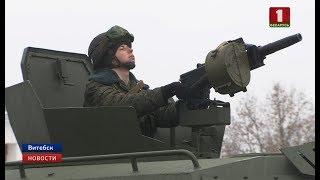 """Бронированные машины """"Кайман"""" поступили на вооружение витебским десантникам"""