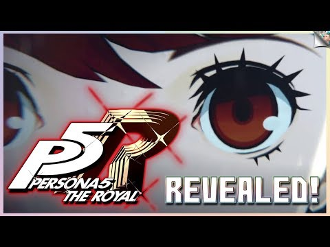 Persona 5 The Royal Officially Unveiled By Atlus | New Female Character, More Details In April!