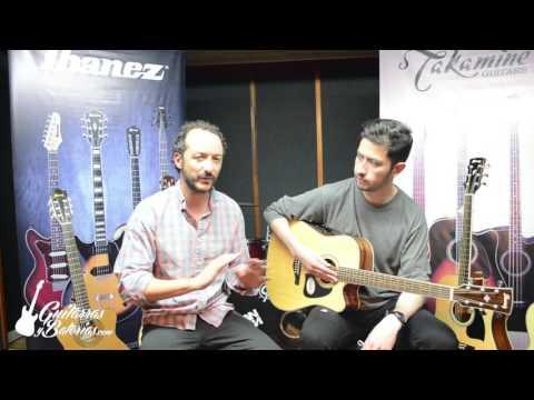 Demostración Guitarra Electroacústica Ibanez AW70 en Español