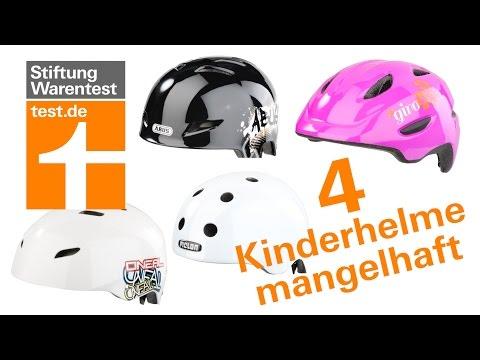 Test Fahrradhelme für Kinder: Diese 4 sind mangelhaft