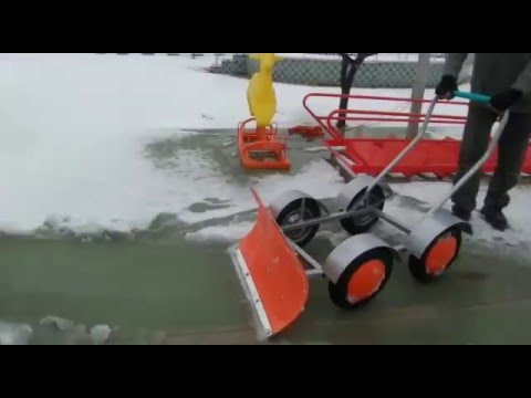 Kar Temizleme Aparatı - Kar Temizleme Ekipmanı