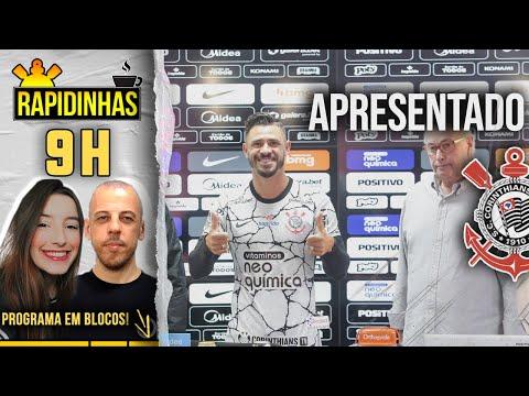 Giuliano apresentado   Corinthians treina de olho no Santos - Rapidinhas