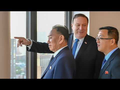 Pompeo meets top North Korea official for pre-summit talks