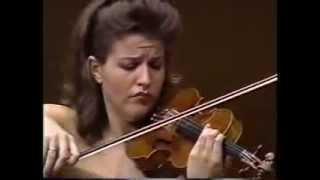 Anne Sophie Mutter Violin Recital in Tokyo Suntory Hall 1989